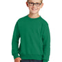 Port & Company Youth Core Fleece Crewneck Sweatshirt - Kelly Green