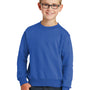 Port & Company Youth Core Fleece Crewneck Sweatshirt - Royal Blue