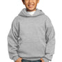 Port & Company Youth Core Fleece Hooded Sweatshirt Hoodie - Ash Grey
