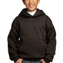 Port & Company Youth Core Fleece Hooded Sweatshirt Hoodie - Dark Chocolate Brown