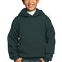 Port & Company Youth Core Fleece Hooded Sweatshirt Hoodie - Dark Green