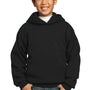 Port & Company Youth Core Fleece Hooded Sweatshirt Hoodie - Jet Back