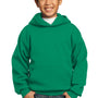 Port & Company Youth Core Fleece Hooded Sweatshirt Hoodie - Kelly Green