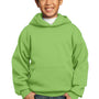 Port & Company Youth Core Fleece Hooded Sweatshirt Hoodie - Lime Green