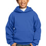 Port & Company Youth Core Fleece Hooded Sweatshirt Hoodie - True Royal Blue