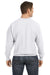 Champion S1049 Mens Crewneck Sweatshirt Silver Grey Back