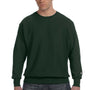 Champion Mens Crewneck Sweatshirt - Dark Green