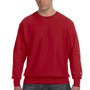 Champion Mens Crewneck Sweatshirt - Scarlet Red