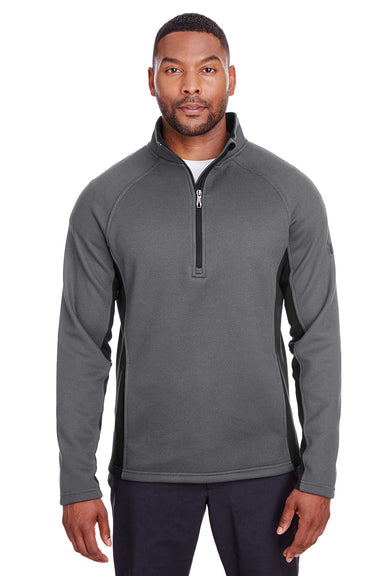 Spyder S16561 Mens Constant 1/4 Zip Sweater Grey Front