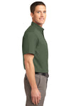 Port Authority S508 Mens Easy Care Wrinkle Resistant Short Sleeve Button Down Shirt w/ Pocket Clover Green Side