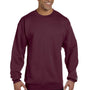 Champion Mens Double Dry Eco Moisture Wicking Fleece Crewneck Sweatshirt - Maroon