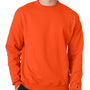 Champion Mens Double Dry Eco Moisture Wicking Fleece Crewneck Sweatshirt - Orange