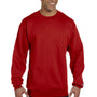 Champion Mens Double Dry Eco Moisture Wicking Fleece Crewneck Sweatshirt - Scarlet Red