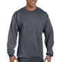 Champion Mens Double Dry Eco Moisture Wicking Fleece Crewneck Sweatshirt - Heather Charcoal Grey