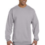Champion Mens Double Dry Eco Moisture Wicking Fleece Crewneck Sweatshirt - Light Steel Grey