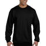Champion Mens Double Dry Eco Moisture Wicking Fleece Crewneck Sweatshirt - Black