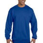Champion Mens Double Dry Eco Moisture Wicking Fleece Crewneck Sweatshirt - Royal Blue