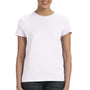 Hanes Womens Nano-T Short Sleeve Crewneck T-Shirt - White