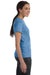 Hanes SL04 Womens Nano-T Short Sleeve Crewneck T-Shirt Carolina Blue Side