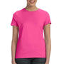 Hanes Womens Nano-T Short Sleeve Crewneck T-Shirt - Wow Pink