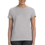Hanes Womens Nano-T Short Sleeve Crewneck T-Shirt - Light Steel Grey