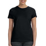 Hanes Womens Nano-T Short Sleeve Crewneck T-Shirt - Black