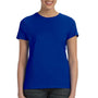 Hanes Womens Nano-T Short Sleeve Crewneck T-Shirt - Deep Royal Blue
