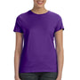 Hanes Womens Nano-T Short Sleeve Crewneck T-Shirt - Purple