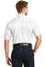 CornerStone SP18 Mens SuperPro Stain Resistant Short Sleeve Button Down Shirt w/ Pocket White Back