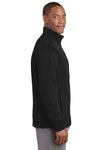 Sport-Tek ST241 Mens Sport-Wick Moisture Wicking Fleece Full Zip Sweatshirt Black Side