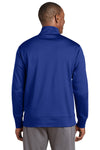 Sport-Tek ST241 Mens Sport-Wick Moisture Wicking Fleece Full Zip Sweatshirt Royal Blue Back