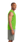 Sport-Tek ST352 Mens Competitor Moisture Wicking Tank Top Lime Green Side