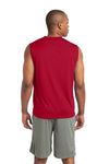 Sport-Tek ST352 Mens Competitor Moisture Wicking Tank Top Red Back
