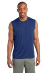 Sport-Tek ST352 Mens Competitor Moisture Wicking Tank Top Royal Blue Front