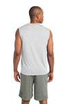 Sport-Tek ST352 Mens Competitor Moisture Wicking Tank Top White Back