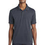 Sport-Tek Mens RacerMesh Moisture Wicking Short Sleeve Polo Shirt - Graphite Grey