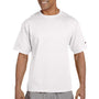 Champion Mens Heritage Short Sleeve Crewneck T-Shirt - White