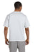 Champion T2102 Mens Heritage Short Sleeve Crewneck T-Shirt Silver Grey Back