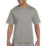 Champion Mens Heritage Short Sleeve Crewneck T-Shirt - Oxford Grey