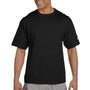 Champion Mens Heritage Short Sleeve Crewneck T-Shirt - Black