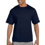Champion Mens Heritage Short Sleeve Crewneck T-Shirt - Navy Blue