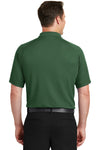 Sport-Tek T475 Mens Dry Zone Moisture Wicking Short Sleeve Polo Shirt Forest Green Back