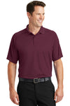 Sport-Tek T475 Mens Dry Zone Moisture Wicking Short Sleeve Polo Shirt Maroon Front