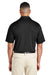 Team 365 TT51 Mens Zone Performance Moisture Wicking Short Sleeve Polo Shirt Black Back