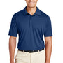 Team 365 Mens Zone Performance Moisture Wicking Short Sleeve Polo Shirt - Dark Navy Blue