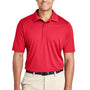 Team 365 Mens Zone Performance Moisture Wicking Short Sleeve Polo Shirt - Red