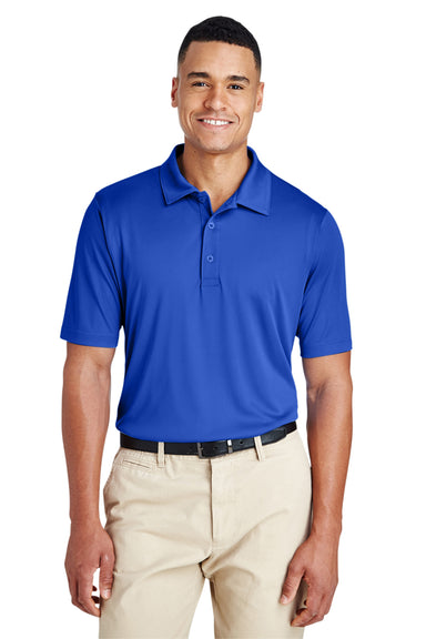 Team 365 TT51 Mens Zone Performance Moisture Wicking Short Sleeve Polo Shirt Royal Blue Front