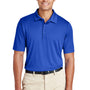 Team 365 Mens Zone Performance Moisture Wicking Short Sleeve Polo Shirt - Royal Blue