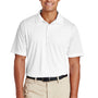 Team 365 Mens Zone Performance Moisture Wicking Short Sleeve Polo Shirt - White