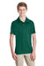 Team 365 TT51Y Youth Zone Performance Moisture Wicking Short Sleeve Polo Shirt Forest Green Front
